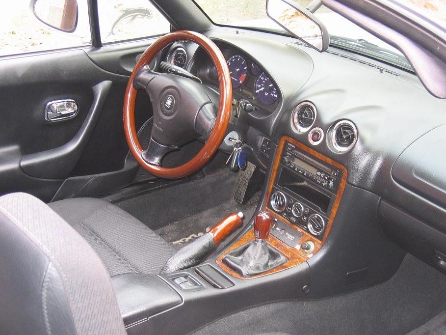 paul 39 s 1999 miata interior