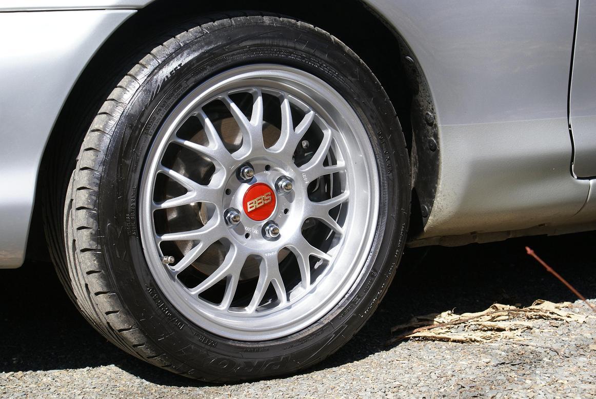 Paul's 1999 Miata - Wheels